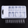 Professional Clear Dual System Nail Finger Extension False Nail Tips