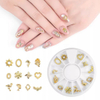 Charms Metal Alloy Diamonds Pearl Jewelry Nail Art Decorations Accessories