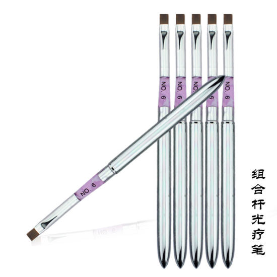 Copper Tube Gel Brush Nail Art Acrylic Brush Painting Pen
