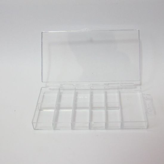 100PCS Nail Tip Box for Nail Art Tools Empty Containers