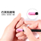 Nail Quartz Brush with Pusher Manicure Nail Art Tool