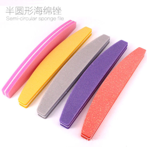 Nail File Buffer Bridge Sponge Nail Buffer Colourful Nail Tools