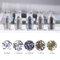 Nail Rhinestones Micro Diamond Glass Gem Accessories Nail Art Decorations