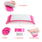 PRO Plastic & Silicone Nail Art Cushion Pillow Nail Arm Rest