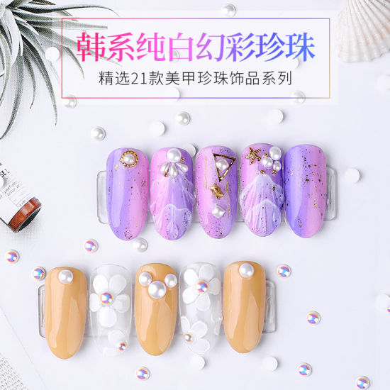 Nail Art Decoration Shinning Nail Art Pearl Nail Jewelry