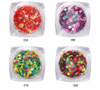 Star Shape Design Glitter Sequins Color Mixed Nail Art