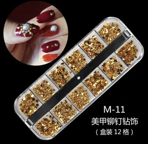 Mixed Multi-Size Nail Rhinestones 3D Decorations Nail Art Decorations