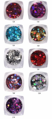 Heart Shape Nail Sequins Flakes Paillette Manicure Nail Art Decoratio